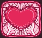 serii ramowy valentine Fotografia Stock