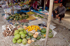 Serikin Market, Sarawak Royalty Free Stock Images