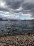 Serinity озера стоковая фотография rf