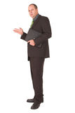 Serious. Businessman wit hserious expression Stock Images