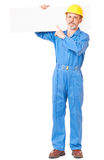 Serious adult worker Royalty Free Stock Image
