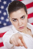 Serious american politics Royalty Free Stock Photos