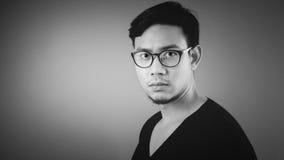 Serious Asian man. Royalty Free Stock Photos