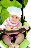Serious baby Royalty Free Stock Photography