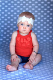 Serious Baby Stock Photo