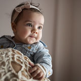 Serious baby girl Royalty Free Stock Image