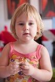 Serious baby portrai Royalty Free Stock Photo