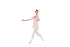Serious ballerina dancing Stock Photo