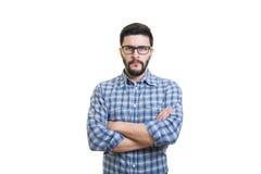Portrait of serious man Stock Image