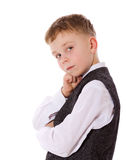 Serious boy Royalty Free Stock Photography
