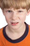 Serious Boy Stock Images