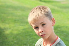 Free Serious Boy Stock Photography - 33109162