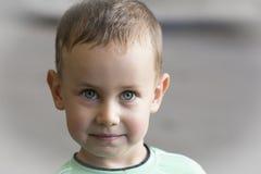 Serious boy. Royalty Free Stock Photos