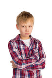 Serious Boy Stock Image