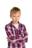 Serious Boy Stock Image