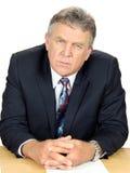Serious Business Executive Stock Image