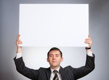 Serious Business Man Stock Photo