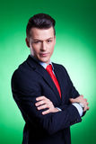 Serious business man Stock Photography