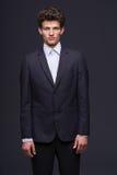 Serious business man Stock Photo