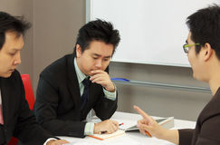 Serious Business Meeting Stock Image