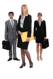Serious business people Royalty Free Stock Photography
