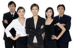Serious Business Team Stock Photography