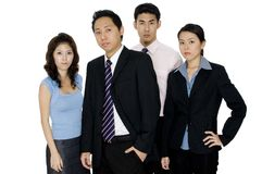 Serious Business Team Royalty Free Stock Images