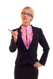 Serious business woman Stock Photos