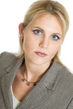 Serious business woman portrait Royalty Free Stock Photography
