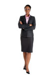Serious business woman standing Royalty Free Stock Image