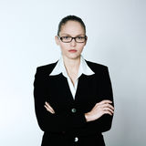 Serious business woman Royalty Free Stock Photography