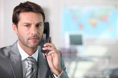 Serious businessman Stock Image