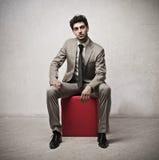 Serious Businessman Stock Photography