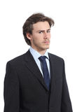 Serious businessman portrait Royalty Free Stock Image