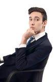 Serious businessman. Stock Images