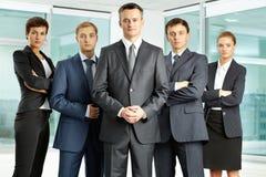 Serious businessteam Royalty Free Stock Photos