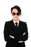 Serious businesswoman Royalty Free Stock Image