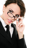 Serious businesswoman Stock Photos