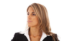 Serious businesswoman Stock Images