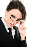 Serious businesswoman Royalty Free Stock Photo