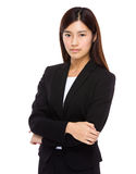 Serious businesswoman Royalty Free Stock Photos