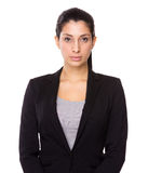Serious Businesswoman Stock Photo