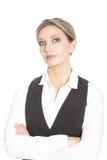 Serious businesswoman Stock Image