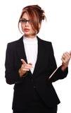 Serious Businesswoman/secretary/teacher/ Stock Photos