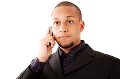 Serious Call Royalty Free Stock Photo