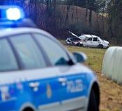 Serious car crash Royalty Free Stock Image