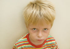 Serious Child Royalty Free Stock Images
