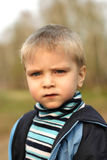 Serious childboy Royalty Free Stock Images