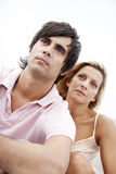 Serious couple Stock Photography