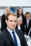 Serious dedicated young businessman Stock Photos